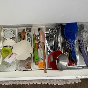 キッチン引き出し整理収納 少しづつ頑張ろ