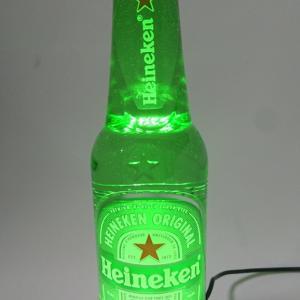 ハイネケンの瓶ビール照明をDIY