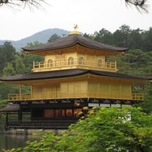 京都観光で金閣寺にいきました