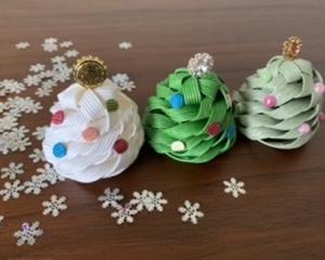 クリスマスツリー*かわいいサイズ