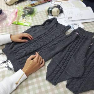 10月17日編み物教室開催しました❗️