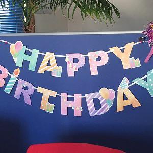 5歳の誕生日*:..。o○ハッピー(∞人'v`◆)バースデー○o。..:*