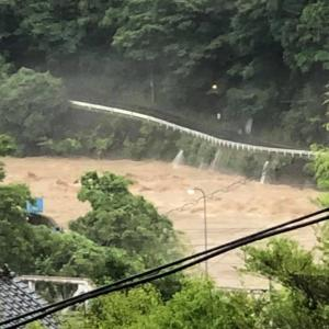 大雨降り過ぎ(>_<)これ以上災害がでないことを願います!!!