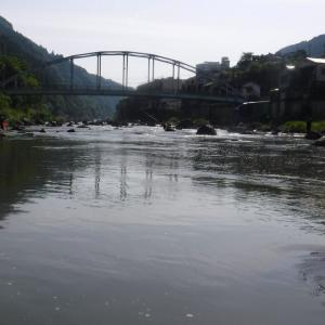 球磨川水系に続いて三隈川水系まで氾濫するとは・・・