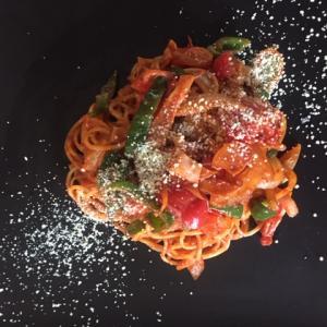 プチトマトレシピ~トマトソースパスタ~