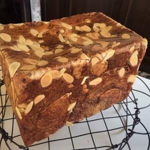 手作りチョコシートの角食パン