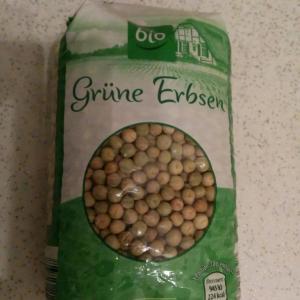 乾燥えんどう豆料理