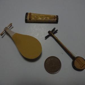 小道具の「楽器」3種類が出来ました。