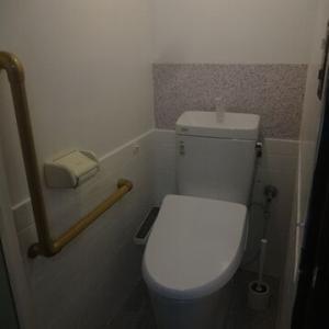 トイレが綺麗になりました。