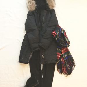 リクエスト:完全防寒コーデ。