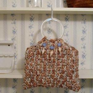 直営教室と、持ち手から編むバッグのこと