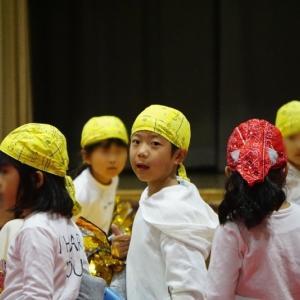 ソースケ初、シオリ5回目の小学校学芸会見学から陸上記録会見学へ