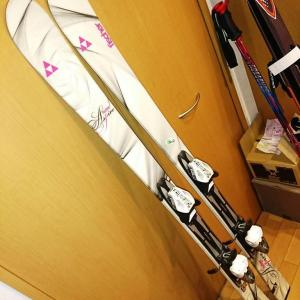 今シーズンのスキー大物準備はほぼ完了