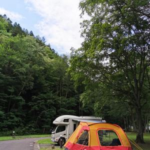 北海道6日目〜念願の丸瀬布キャンプ場へ