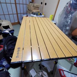 村の鍛冶屋さんテーブルを久しぶりに組み立てたら・・・緊急修理