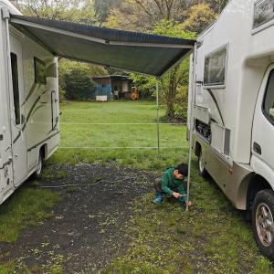 1日中大雨だったけど約半年ぶりのキャンプ堪能