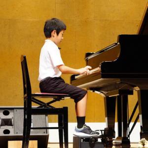 ソースケのピアノ発表会無事終了