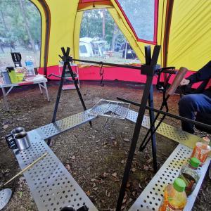 2カ月ぶりのキャンプ~新規投入アイテムで成功したキャンプ飯