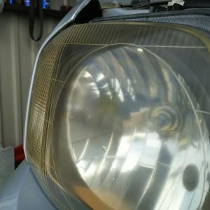 M様JB23 ヘッドライト交換