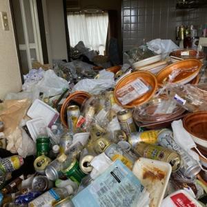 引っ越しを切っ掛けに、ゴミ屋敷から綺麗なお部屋に(ビフォーアフター)名古屋市中心にゴミ屋敷清掃