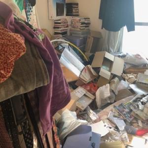 ゴミが溜まった汚部屋からの引っ越「ビフォーアフター」