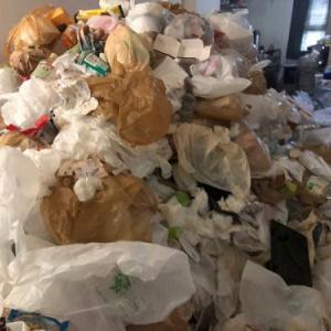 ゴミを貯めてしまったお部屋「ビフォーアフター」