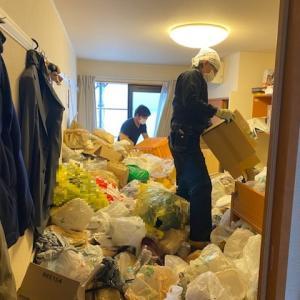 引っ越しを切っ掛けにお部屋と心の整理(ビフォーアフター)名古屋市中心にゴミ屋敷清掃