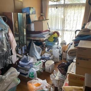 家の片付けと要る物と要らない物(5DKビフォーアフター)名古屋市中心に家の片付け