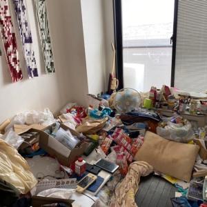 要る物と要らない物をどう分けて片付ける?「1Kビフォーアフター」名古屋市中心に汚部屋片付け