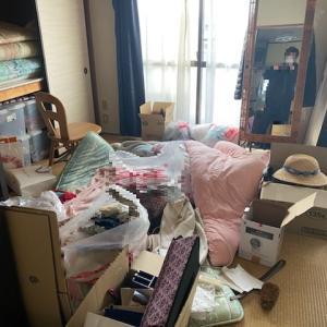 賃貸退去。残された生活用品「2DKビフォーアフター」名古屋市中心に遺品の整理
