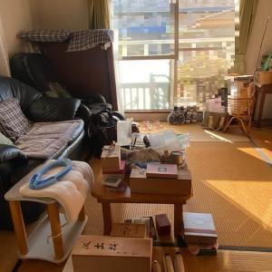 施設入居の為のお部屋の片付け(4Kビフォーアフター)生前整理はプロにお任せ下さい。