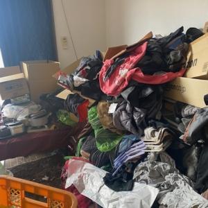ゴミ屋敷からの心機一転(1Kビフォーアフター」名古屋市内中心にお部屋片付けはお任せ