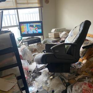 引越しのためのお部屋片付け(3DKビフォーアフター)ゴミ屋敷清掃はプロにお任せ