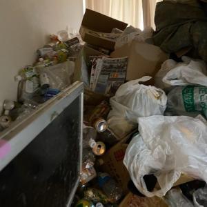 ゴミ屋敷になってしまったお部屋をスッキリ「1Kビフォーアフター」ゴミ屋敷清掃はプロにお任せ