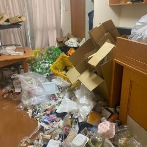 ゴミ屋敷清掃で奇麗なお部屋に(1Kビフォーアフター)片付けはプロにお任せ