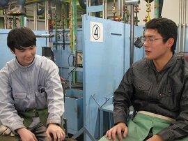(株)小松製作所様の入社前研修に行ってきました!★日立産業学院