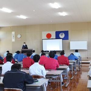 土浦学院の交通安全講話