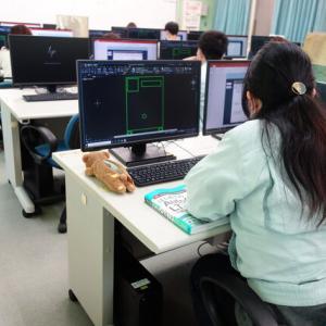 在職者訓練「機械CAD(AutoCAD) 初級」★日立学院★