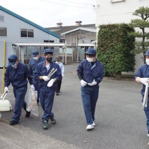 ボランティア活動★筑西学院★