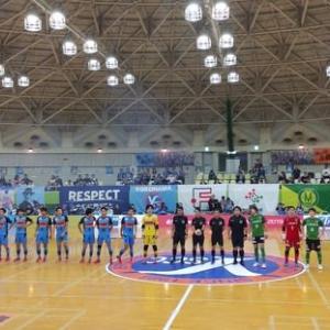 Fリーグ2019/2020 ディビジョン2 第10節 Y.S.C.C.横浜vsヴィンセドール白山(2019.11.04)