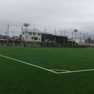 三島南二日町人工芝グラウンド人工芝張替え(2021.04.04)