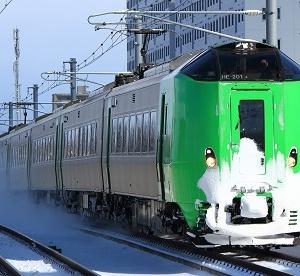 早速今冬も始まった789系1000番台の特急「ライラック」代走