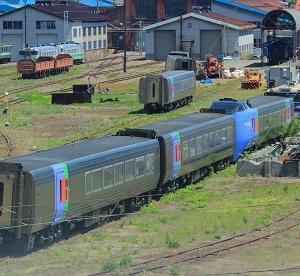廃車・解体が進むキハ283系