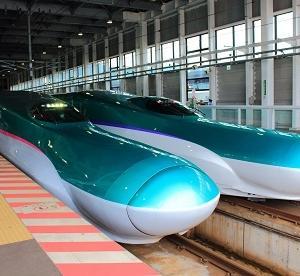 新幹線を見てきました!!