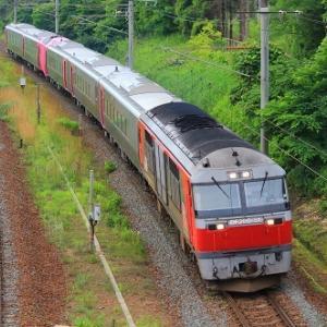キハ261系5000番台はまなす編成が札幌に到着