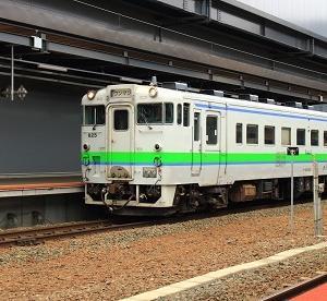 函館運輸所(函ハコ)に転属した「キハ40-825」