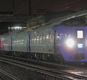明日からいよいよ宗谷線特急の充当が始まるキハ261系5000番台ラベンダー編成