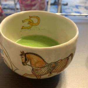 お抹茶茶碗完成♬そしてお茶会