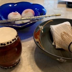 月と星の大皿 & 松原庵カフェ