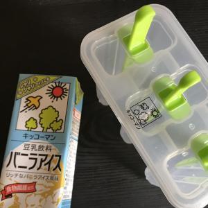 手作り豆乳シャーベット!
